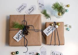 brown gift wrapping paper revisiting the basics stylish ways to wrap gifts in brown paper