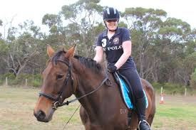 Does A Blind Person Dream Blind Horse Rider U0027s Talent Shines Through As She Starts Long Road
