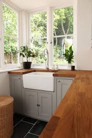 light grey kitchen cabinets with wood countertops pin by bo kiepen on kitchens kitchen inspirations kitchen