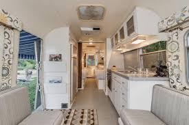 renovated rv midcentury modern airstream trailer william c johnson hgtv