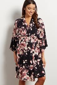 floral delivery mauve floral delivery nursing maternity robe