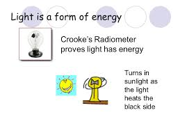 is light a form of energy light by neil bronks light is a form of energy crooke s radiometer