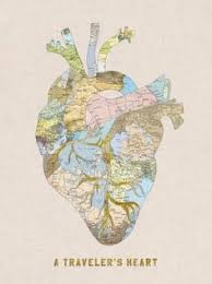 A Traveler s Heart Art Print