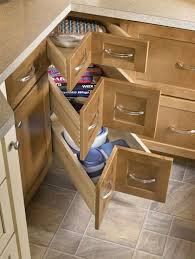 winsome corner cabinet drawers 10 kitchen corner base cabinet with