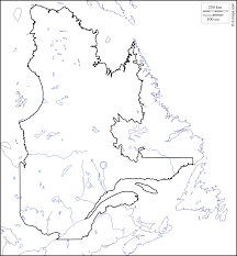 Blank Map Of Canada by Quebec Free Map Free Blank Map Free Outline Map Free Base Map