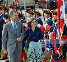 Vi Flag Pictures The King And Queen Of Spain Visit St Augustine Photos And Images