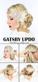 how to make a 1920s hairpiece diy flapper headband easy tutorial darice flapper headband