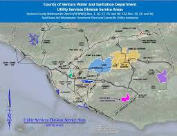 ventura county map works agency water and sanitation services