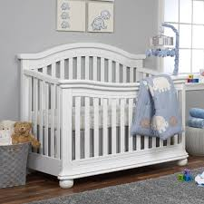 Convertible White Crib Sorelle Vista Elite 4 In 1 Convertible Crib White Babies R Us