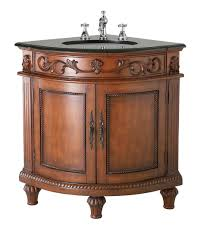Tuscan Style Bathroom Ideas Beautiful Belle Foret Dark Oak Corner Bathroom Vanity Review