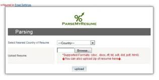 resume parser resume parser with sugarcrm free and software reviews