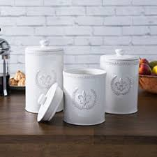 white kitchen canisters sets kitchen canisters canister sets kirklands