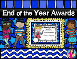 Messiest Desk Award End Of The Year Awards Color Version By Kristina Ficquette Tpt