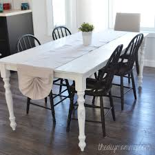 home design charming diy shabby chic table chalk painted kitchen