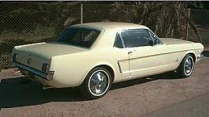 1965 yellow mustang mustang specs 1964 65 ford mustang