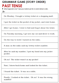 best ideas of past tense worksheets pdf on proposal huanyii com