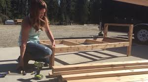 2x4 Outdoor Furniture by How To Build A 2x4 Outdoor Sectional Tutorial Youtube