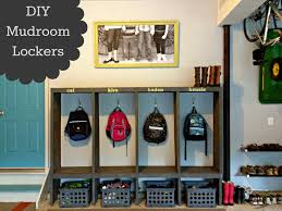 Locker Wallpaper Diy by Diy Mudroom Lockers Garage Mudroom Makeover