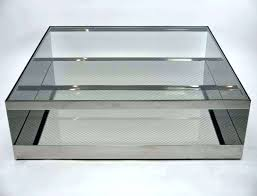 contemporary square glass coffee table glass square coffee table harlowproject com
