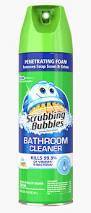 Heavy Duty Bathroom Cleaner Scrubbing Bubbles Sc Johnson