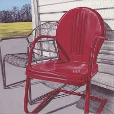 Retro Outdoor Furniture by Metal Outdoor Chairs Vintage Home Design
