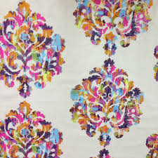 embroidered home decor fabric wellington rainbow embroidered drapery fabric sw50567 discount