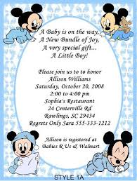 mickey mouse baby shower invitations printable baby mickey mouse baby shower invitations party xyz