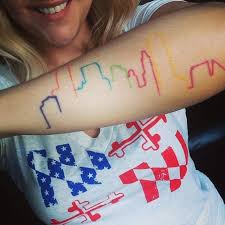 melbourne australia skyline tattoos popsugar smart living photo 2