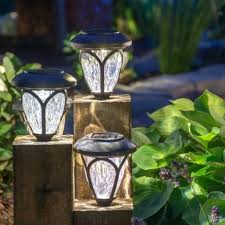 diy outdoor lighting without electricity light diy landscape lighting light the way outdoor without