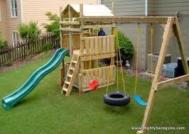 1269110265 81659556 2 childrens backyard swing sets atlanta ga