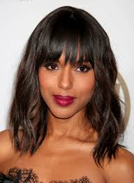 length hairstyles with bangs