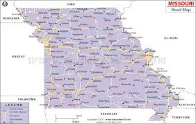 missouri map images road map