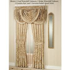 valance curtain designs waterfall antique with and designer shower