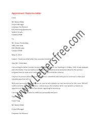 thanksgiving letter to employees appointment thank you letter is a formal letter written to express
