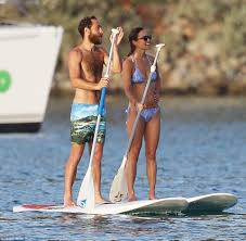 pippa middleton shows off her abs while in st barts with brother
