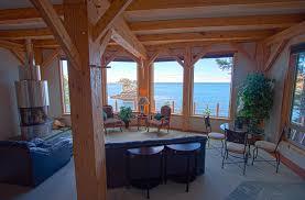 Timber Frame Home Interiors Greene House Dillon U0026 Dillon Timber U0026 Log Wrights