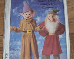 Dopey Dwarf Halloween Costume Dwarf Costume Etsy