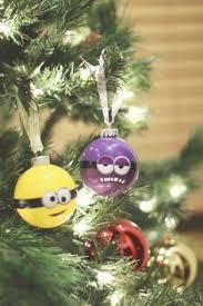 diy minion glitter ornament glitter ornaments diy and