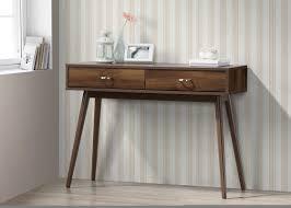 Small Mid Century Desk George Oliver Vanwagoner Midcentury Desk Reviews Wayfair