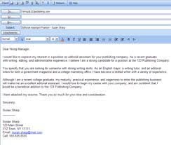 job application cover letter email 11871