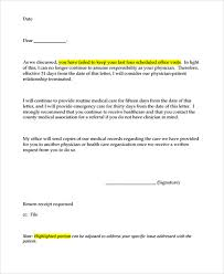 sample dismissal letter template 9 free documents download in