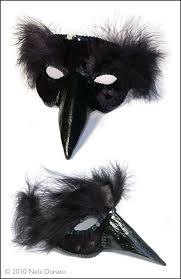 venetian bird mask black bird venetian mask nela dunato design