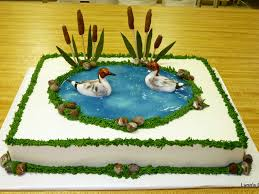 duck hunters birthday cake cakecentral com