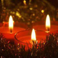 carol candle decore