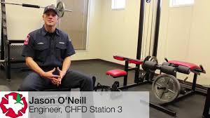 Norsk Interlocking Floor Mats by Firefighters Transform Their Gym With Norsk Pvc Tile Flooring