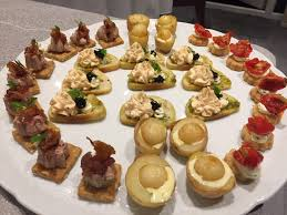 house canape dinner canapes for 8 catering scotland for events and