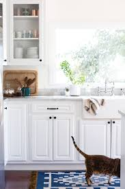 5 ways to style an ugly renter u0027s kitchen the everygirl
