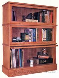 Furniture Plans Bookcase by Barrister Bookcase Plans U2022 Woodarchivist