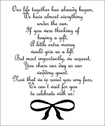 wedding gift honeymoon wedding invitation wording gift list honeymoon registry