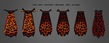 cape designs my infernal cape designs so far 2007scape